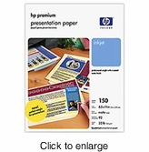 HP Premium Presentation Paper - click to enlarge