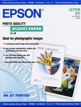 Epson Glossy Photo Paper - 20 Sheets