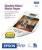 Epson Double-Sided Matte Paper - 50 Sheets
