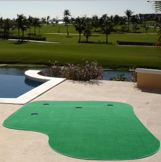 Big Moss Country Club Artificial Putting Green 6x12