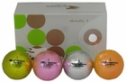 Crospete Chromax Golf Balls 6 Pack > Metallic Chromatic Golf Balls