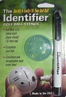 The Identifier Golf Ball Marker