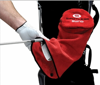 Spotless Swing Towel | 3 in 1 Golf Towel and Golf Club Cleaner  Free Shipping!