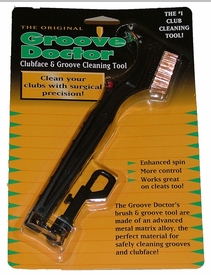 Free Shipping!  Groove Doctor Golf Club Wire Brush | Groove DR Golf Club Cleaner