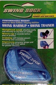 Free Shipping! Swing Sock Weighted Golf Head Cover and Swing Trainer