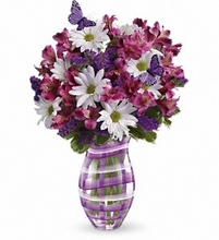 Lavender Plaid Bouquet