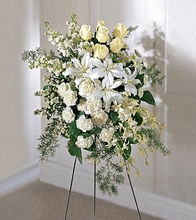 Peaceful Memories Arrangement Funeral flowers