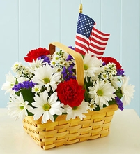Red, White & Blooms