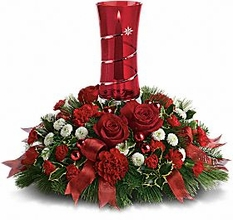 Star Bright Centerpiece Flowers Christmas centerpiece