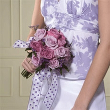 Lavender Rose Presentation Bouquet