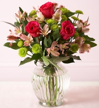Flower bouquet  with rose
