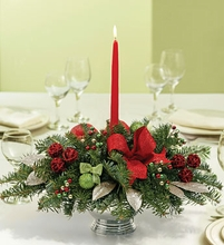 Festive Holiday Centerpiece