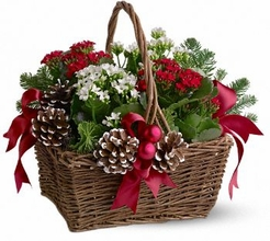 Christmas Garden Basket