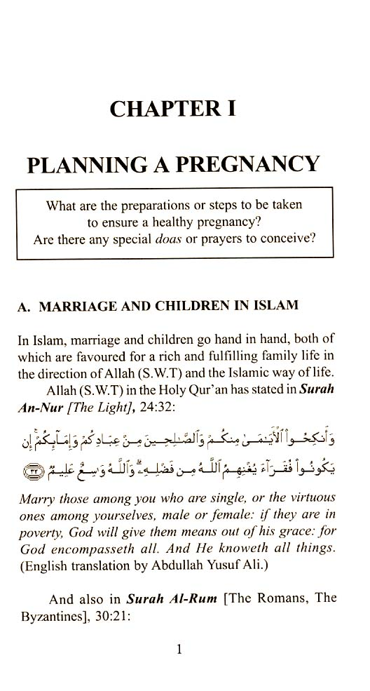 A Blessed Pregnancy : Enjoying and Understanding Pre