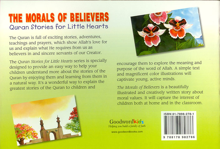 The Morals of Believers PB (Quran Stories for Little Hearts)