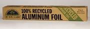 RECYCLED ALUMINUM FOIL