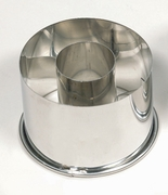 SMALL DOUGHNUT CUTTER 2.5 IN