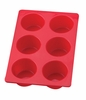 6 CUP MUFFIN PAN SILICONE