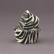 ZEBRA BAKING CUPS