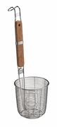 "Helen's Asian Kitchen® Spider Strainer Basket Stainess/Wood 5.5"" w/Hooks"