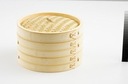 "10"" BAMBOO STEAMER 3 PC SET"