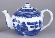 TEAPOT W/ INFUSER 16 OZ BLUE W