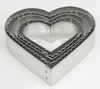 CRINKLE HEART COOKIE CUTTER