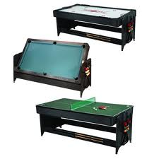 Charmant Game Room, Rec Room Games, Air Hockey Tables, Foosball