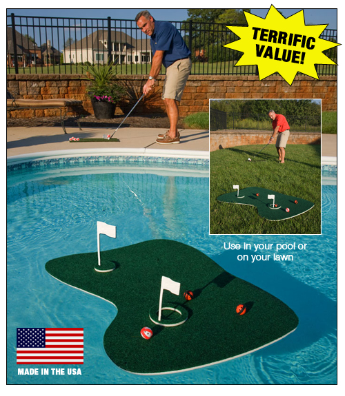 Pool & Backyard Golf Game