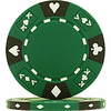 Tri-Color Ace/King Clay Poker Chips (14g)