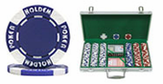 300 (11.5g) Hold'em Poker Chip Set in Aluminum Case