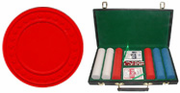 300 (9g) Super Diamond Poker Chip Set in Vinyl Case