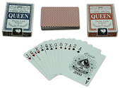 Queen Playing Cards (1 each Blue & Red)