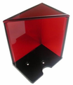 6-Deck Discard Holder with Top (Red)