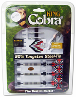 King Cobra KC002202 Steel-Tip Darts (22g)