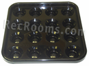 Black Plastic Billiard Ball Tray