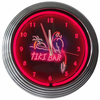 "15"" Tiki Bar Neon Clock"