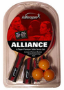 "Killerspin ""Alliance"" Table Tennis Racket Set"