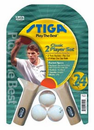 Stiga Classic 2-Player Table Tennis Racket Set