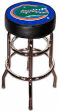 NCAA Double Rung Swivel Bar Stool