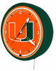 "20"" College NCAA Licensed Neon Clock"