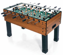 Carrom Burr Oak Foosball Table