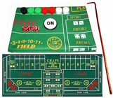 Craps, Roulette, Felt Layouts and More