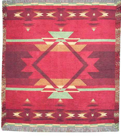 American Indian Throw Blanket
