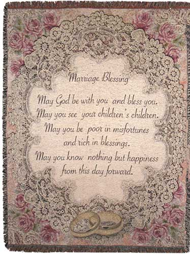 Marriage Blessing Prayer