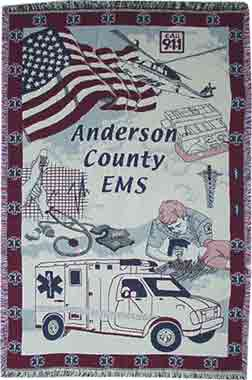 EMS Custom Throw Blanket