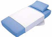 Super-Absorbent Machine Washable Bed-Wetting Mattress Protection Pads - Twin or Full Size