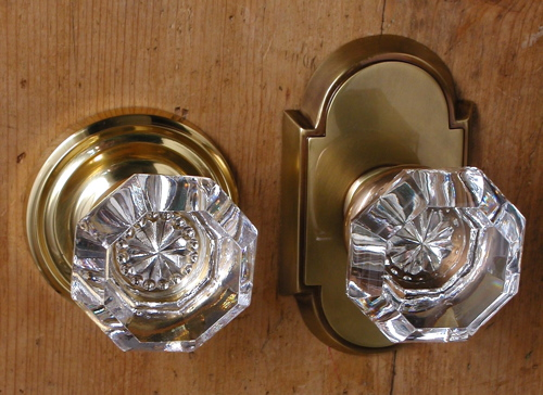 Emtek Old Town Clear Glass Door Knob