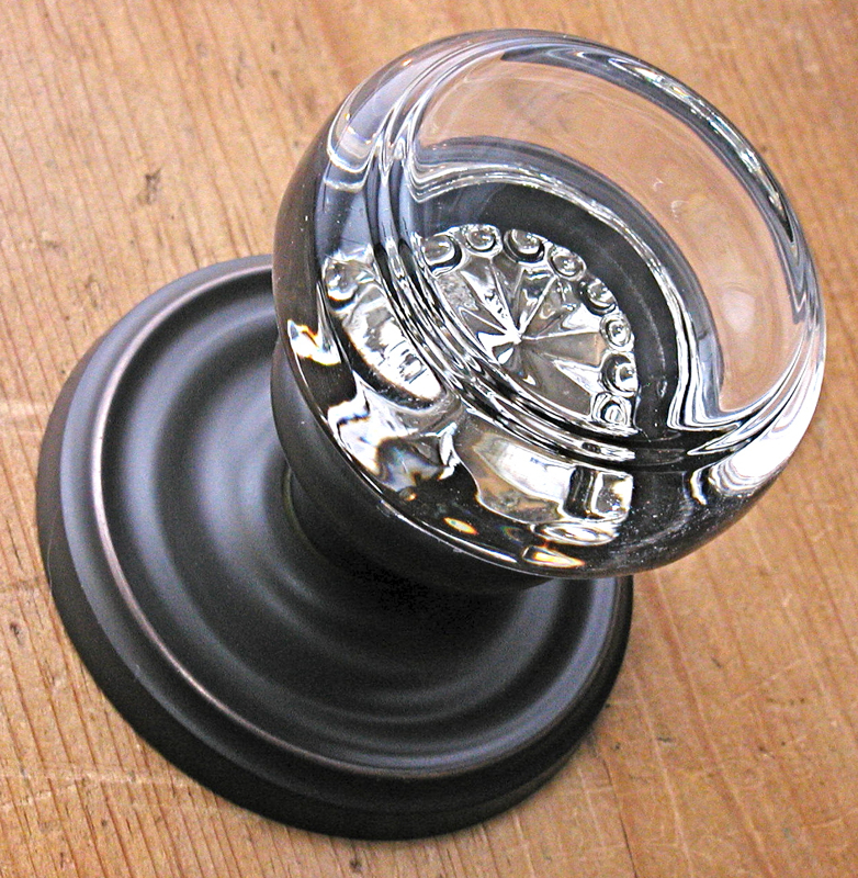 Emtek Georgetown Glass Door Knob