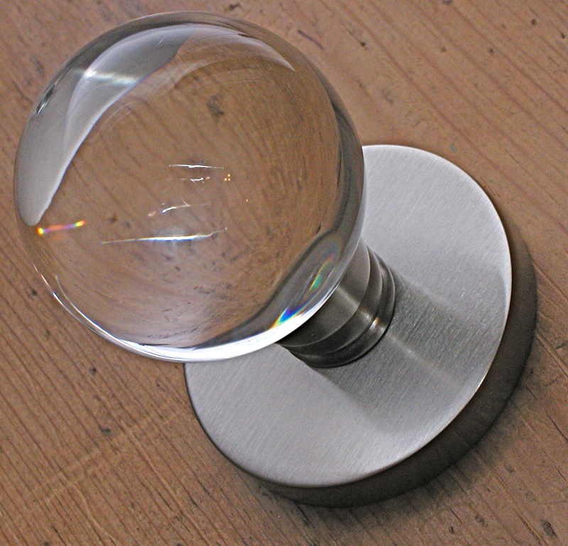 Emtek Bristol Spherical Glass Door Knob